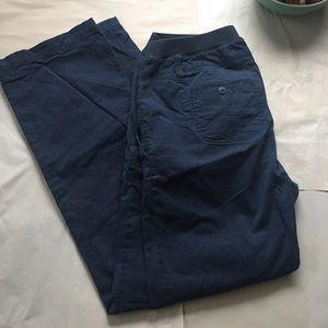 Old Navy Pants - Old Navy Maternity Navy Blue Pants Size M Long