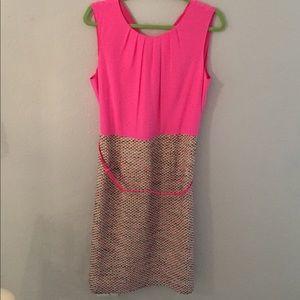 NWT Kate Spade Dress - pink & tweed