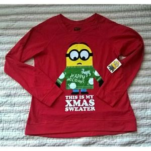 hybrid Other - New Awesome Despicable Me Minion Juniors Sweater