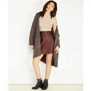 New Look Dresses & Skirts - Faux leather skirt