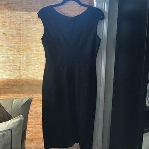 Magaschoni Black Sheath Dress