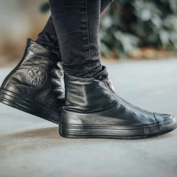 Converse Shoes | Nwt Converse Shroud Leather Hi Top Sneakers ...