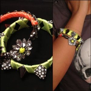 Set of bold statement Bangles