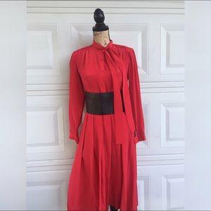 Dresses & Skirts - Red dots Elegant Dress vintage