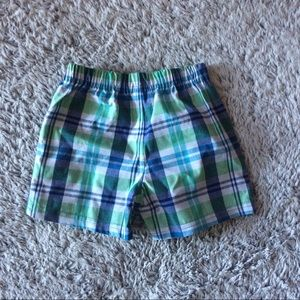 Baby Gear Other - Plaid shorts