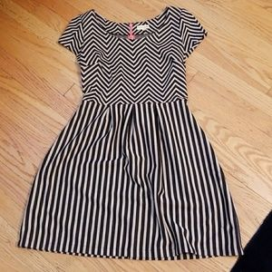 Maison Jules fit and flare dress sz S