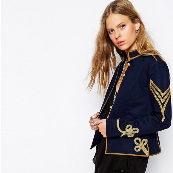 Denim & Supply Women's Military Jacket