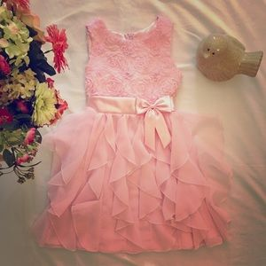American Princess Other - 👧GIRLS PRETTY PINK PRINCESS DRESS 12🌸