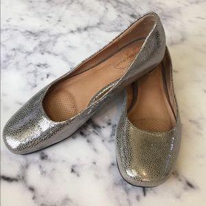 Corso Como Shoes - Corso Como Pebbled Metallic Flats