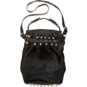 Alexander Wang Diego Calf-Hair bucket bag
