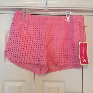 Lilly for Target Eyelet Shorts