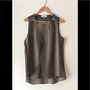 WAYF Tops - EUC - WAYF Sheer Sleeveless Blouse