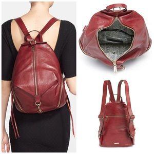 Rebecca Minkoff Handbags - Rebecca Minkoff•Julian Backpack in Burgundy