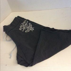 Angels Pants - Rebel angel sweatpants shorts