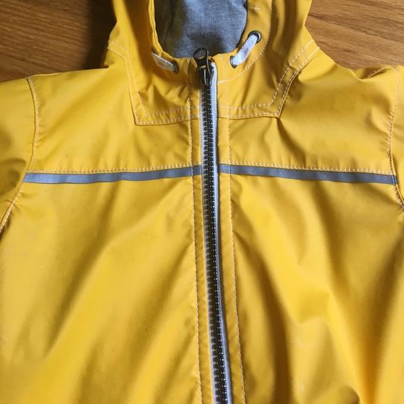 Old Navy Jackets Amp Coats Yellow Hooded Rain Coat 2t