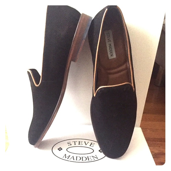 13847839ec3 Steve Madden Taslyn Black Men s Suede Shoes