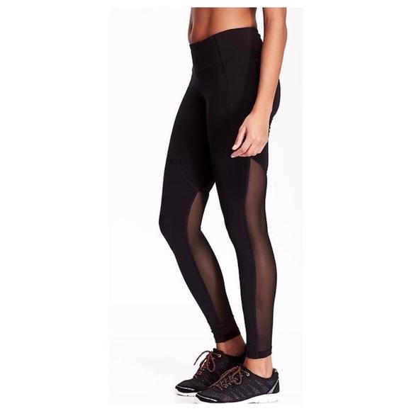 352b6841d7 lululemon athletica Pants | Mesh Back Athletic Leggings | Poshmark