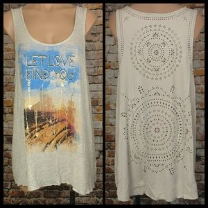 Wrangler Tops - NWT Southwest Punch Out Tank Top XXL