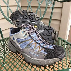 Vasque Shoes - Vasque blue gray hiking shoes boots 10