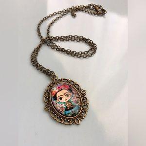 Other - Little Frida Kahlo Necklace