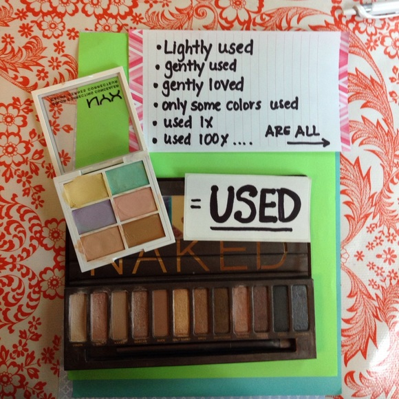 Makeup No Used Swatched Equates To Used Poshmark