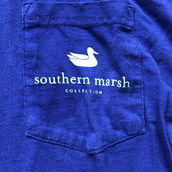 47 Off Southern Marsh Tops Cute Short Sleeved Southern