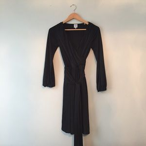 Halston Heritage Wrap Dress