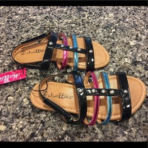 Chatties Other - NWT Girls 12/13 gladiator sandals