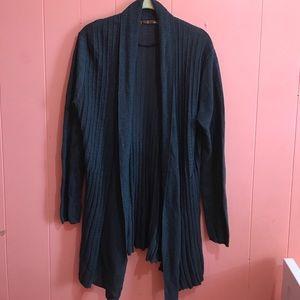 Belldini Sweaters - Bellini Shawl Collar Long Sweater Size XL