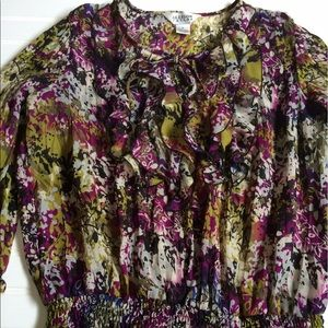 Allison Taylor Tops - 💐Allison Taylor multi colored blouse