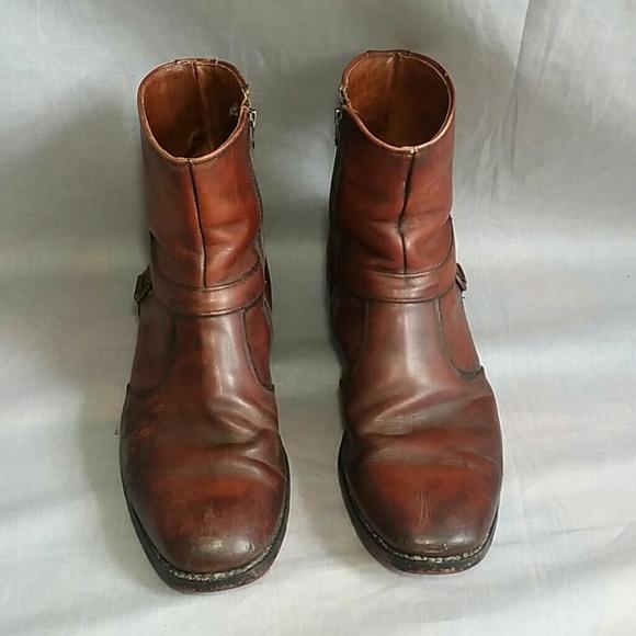 64b896c5fb2 Men's Florsheim Boots shoes 9.5 B Leather