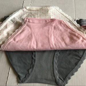 c8f104b69f04 Jessica Simpson Intimates & Sleepwear - Jessica Simpson Seamless Bikini 3-pk  S,M