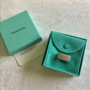 Tiffany & Co. Jewelry - Authentic Tiffany & Co. Somerset Mesh Ring