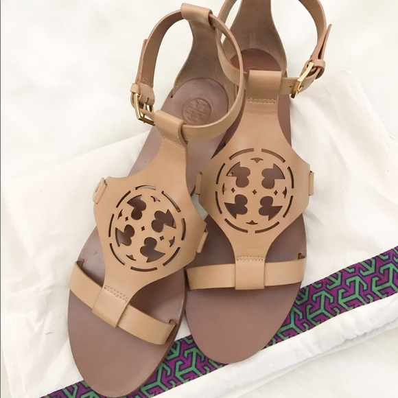 73103954cd099 Tory Burch Zoey Gladiator Sandals 11.5. M 5925c66e291a351e24145365