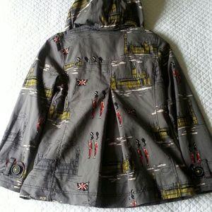 Boden Jackets   Coats - Boden Short Rainy Day Mac Britannia Westminster 4R fc223b674