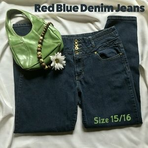 Red Blue Denim on Poshmark