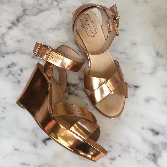 02d9736cea Ted Baker London Shoes - Final Price Ted Baker London Rose Gold Platforms