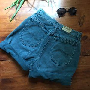 Lee Pants - Vintage High Waisted Lee Shorts