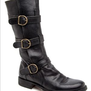 Fiorentini + Baker Shoes - Fiorentini + Baker Buckle Motorcycle Boot