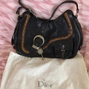 Christian Dior Handbags - Authentic Christian Dior Gaucho Saddle Bag