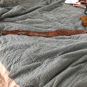 Brown BCBG max azria belt.