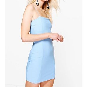 Boohoo Petite Dresses & Skirts - Boohoo Bodycon square neck dress
