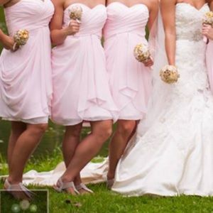 Dresses & Skirts - Pink brides maid dress