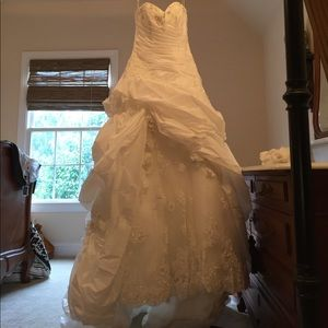 Maggie Sottero Dresses & Skirts - NWT Maggie Sottero Lace accented Pearls/sequins