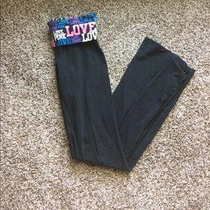 PINK Victoria's Secret Pants - PINK Full Length Yoga Pants
