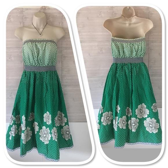d80d74b2c142d Anthropologie Dresses & Skirts - Maeve Anthropologie strapless dress