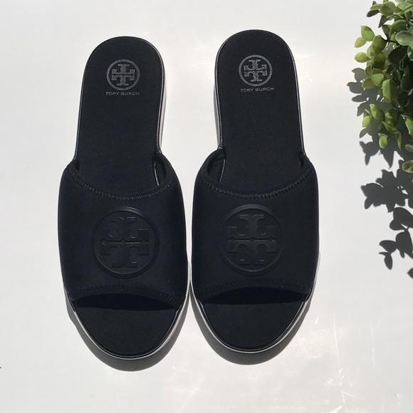 7c6873e4badada Tory Burch Shoes - Tory Burch Neoprene Slides 7