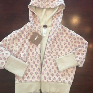 Tea Collection Other - Super cute NWT Tea Collection Zip Up