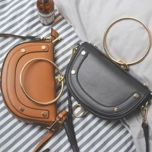 🆕 Penelope O Ring a Buckle Mini Crossbody Handbag