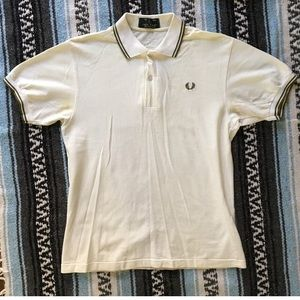 Fred Perry Other - Fred Perry Polo with Twin Tipped in Ivory polo